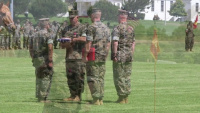 Sergeant Major Meza's Post and Relief Ceremony