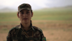 *B-Roll* Nepali Army soldier discusses her role in Khaan Quest 2019