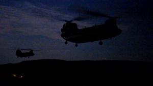Swift Response 19 air assault B-Roll