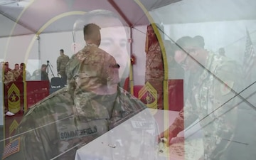 Devil Brigade Soldiers are welcomed into the NCO Corps