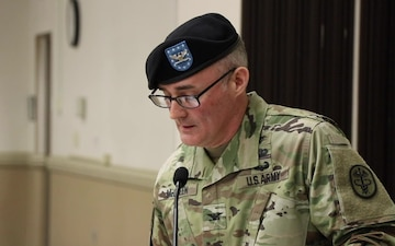 Blanchfield welcomes new commander during change of command ceremony