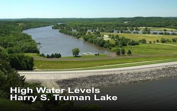 High Water Levels at Truman Lake