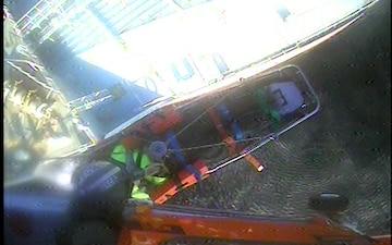 Coast Guard medevacs crewmember from vessel near Port Aransas, Texas