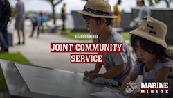 Marine Minute: Joint Community Service