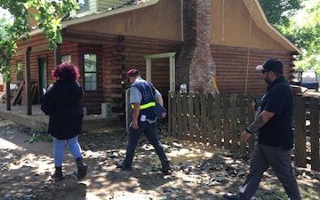 FEMA Disaster Survivor Assistance Teams Visit Neighborhoods Impacted by Recent Flooding