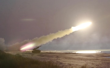 Multi-National Short Range Air Defense Night Live Fire