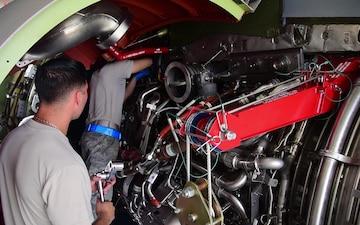C-5M Engine Change Training B-Roll Stringer