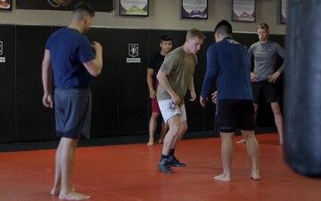 MCAS Yuma Station Gym Jiu Jitsu Class