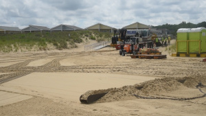 Norfolk District, city of Virginia Beach assist in dredge prep