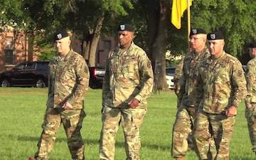 Raw Footage of the 199th Infantry Brigade Change of Command Ceremony