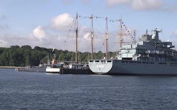 Naval Ships Return from BALTOPS 2019