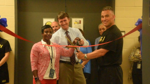 Norfolk District cuts ribbon to support total wellness with fitness center