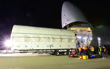 Space Starts Here: AEHF-5 Travels to Cape Canaveral