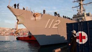 USS Michael Murphy (DDG 112) Pulls into Valparaiso, Chile