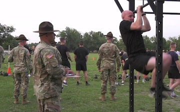 2019 Army Reserve Best Warrior Fitness Test