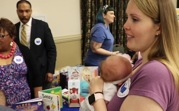 Books from Birth program offered for babies born at BACH. no titles