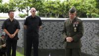 III MEF CG Okinawa Memorial Day B-Roll