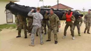 Pacific Update - 247th Military Police Detachment Zodiac Boat Training