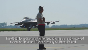 480th Fighter Squadron, Flying Training Deployment, Aviation Rotation 19-2