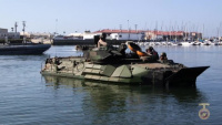 Amphibious vehicle test branch capabilities