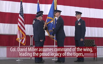 377 ABW Change of Command