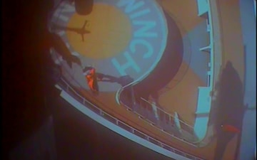 Coast Guard medevacs woman from cruise ship near Kake, Alaska