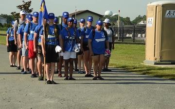 Dover Trains AFJROTC Delaware Cadet Leadership Course
