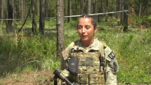 Honolulu kinesiology Student Competes in 2019 Army Reserve Best Warrior Competition