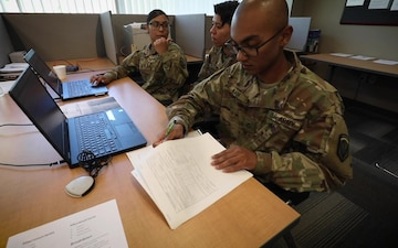 Package: 350th Finance Det. takes part in Exercise Diamond Saber