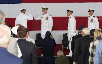 Coast Guard San Diego Change of Command