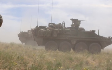 Strykers from 81st SBCT B-Roll package