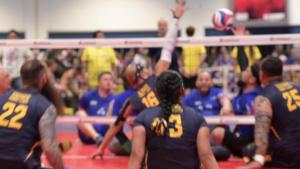 2019 DoD Warrior Games Sitting Volleyball Prelims B-roll