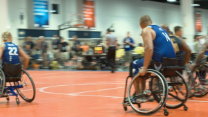 Wounded Warrior Wheelchair Basketball Gold Medal Match 2019