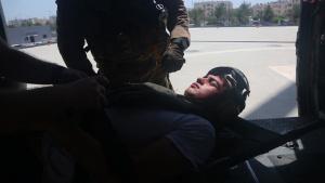 Bahrain MEDEVAC Training