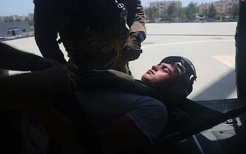 Bahrain MEDEVAC Training