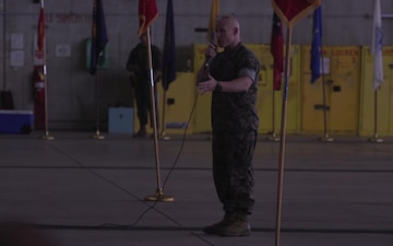 1st Marine Aircraft Wing Change of Command