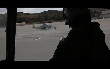 HMLA-469 conducts confined area landings on Camp Pendleton