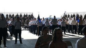 97th AMW Change of Command
