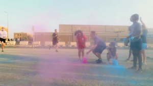 U.S. Service Members Participate in Rainbow 5K Run at Camp Arifjan (Without Lower Thirds)