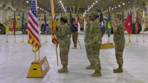 408th Contracting Support Brigade Change of Command (with lower thirds)