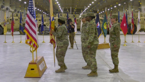 408th Contracting Support Brigade Change of Command