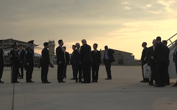 POTUS Visits Osan, Republic of Korea - B-Roll
