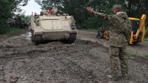 Iron Rangers Cross the Danube River