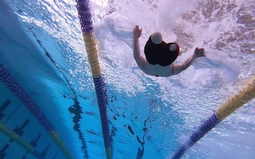 Wounded Warriors Backstroke