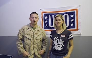 Camp Lemonnier Service members USO Shoutouts