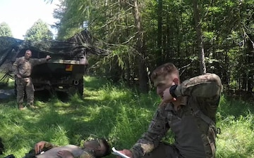 554th Military Police Company Conduct Field Training