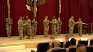 77th Sustainment Brigade Transfer of Authority (B-Roll)