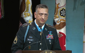 Hall of Heroes Induction Ceremony Speech - SSG David G. Bellavia