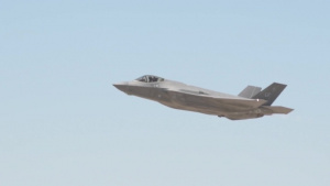 F-35 Take-off Slow-mo