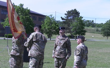 Lt. Col. Lindsey Halter Takes Command of Fort Devens Garrison